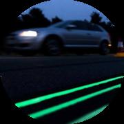 Светящаяся краска для транспортной разметки