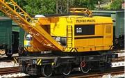 Кран железнодорожный КЖ-562 25 тонн